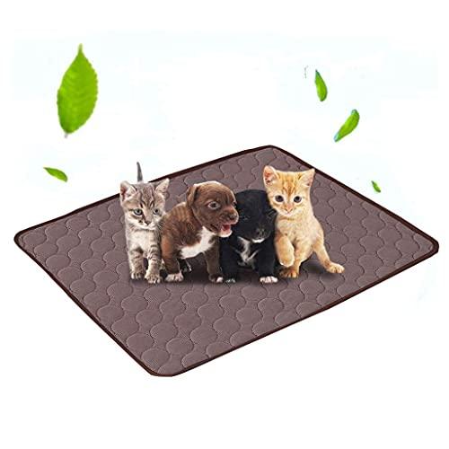 HBIN Alfombrilla de enfriamiento para Mascotas, colchoneta de Verano para Perros, colchonetas para Perros, Gatos, Manta, sofá, Cama Lavable y Transpirable, Almohadilla para jaulas para Mascotas