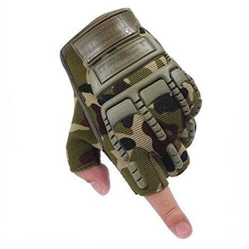 ST$GLL Handschuhe hohe Qualität tragen Handschuhe Halbfinger Rutschfeste Outdoor-Sporthandschuhe (Farbe : C)