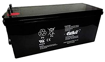 12V 200Ah 4D Deep Cycle AGM SLA Replacement Battery by Casil CA122000