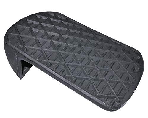 AERZETIX: Reposapies caucho para pedal de freno de coche, vehiculos C10993