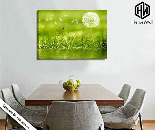 Bloem douchekop   moderne woonkamer xxl   wandschilderij   wandschilderij   canvas S
