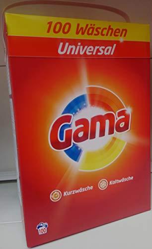 Waschmittel GAMA-Vizir pulver Classic 100WL, 6,5kg