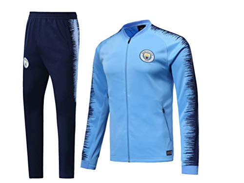 Shi18sport Club Langarm-Trikot Fußballanzug Anzug Team Spielen Wettbewerb Trainingsanzug, 1, M