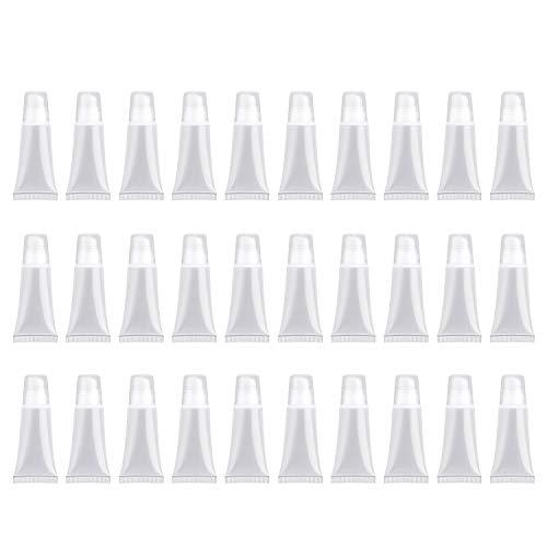 30 STÜCK Leere Tuben Lip Leere Lipgloss-Behälter für Lipgloss Balm Cosmetic , Mini-Behälter...