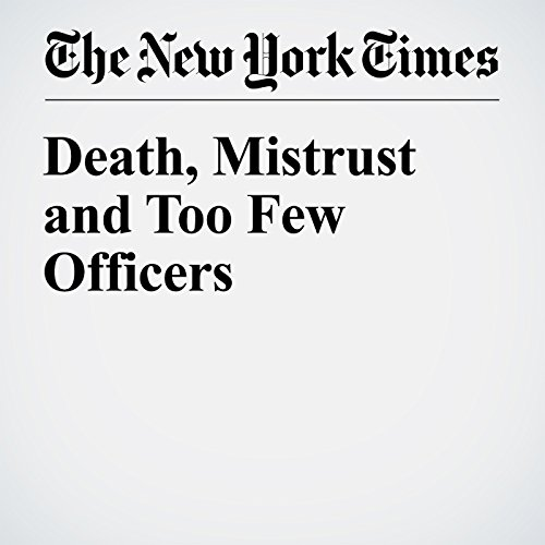 Death, Mistrust and Too Few Officers copertina