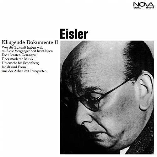Hanns Eisler, Rundfunk-Sinfonieorchester Berlin, Staatskapelle Dresden & Otmar Suitner