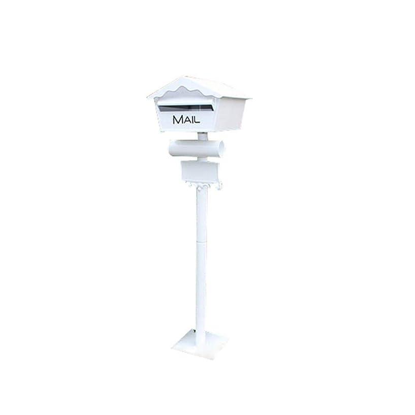 ロデオ意味説教メールボックス 防水 ウィンドウのデザインメールボックス、ガーデンヴィラ防雨装飾ボックスオールアルミ