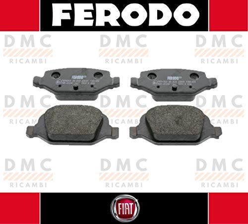 Remblokken Ferodo Panda II Hatchback (169) 1.2 benzine 69 paarden - 1.2 4x4 benzine 60 paarden - 69 paarden FDB1324