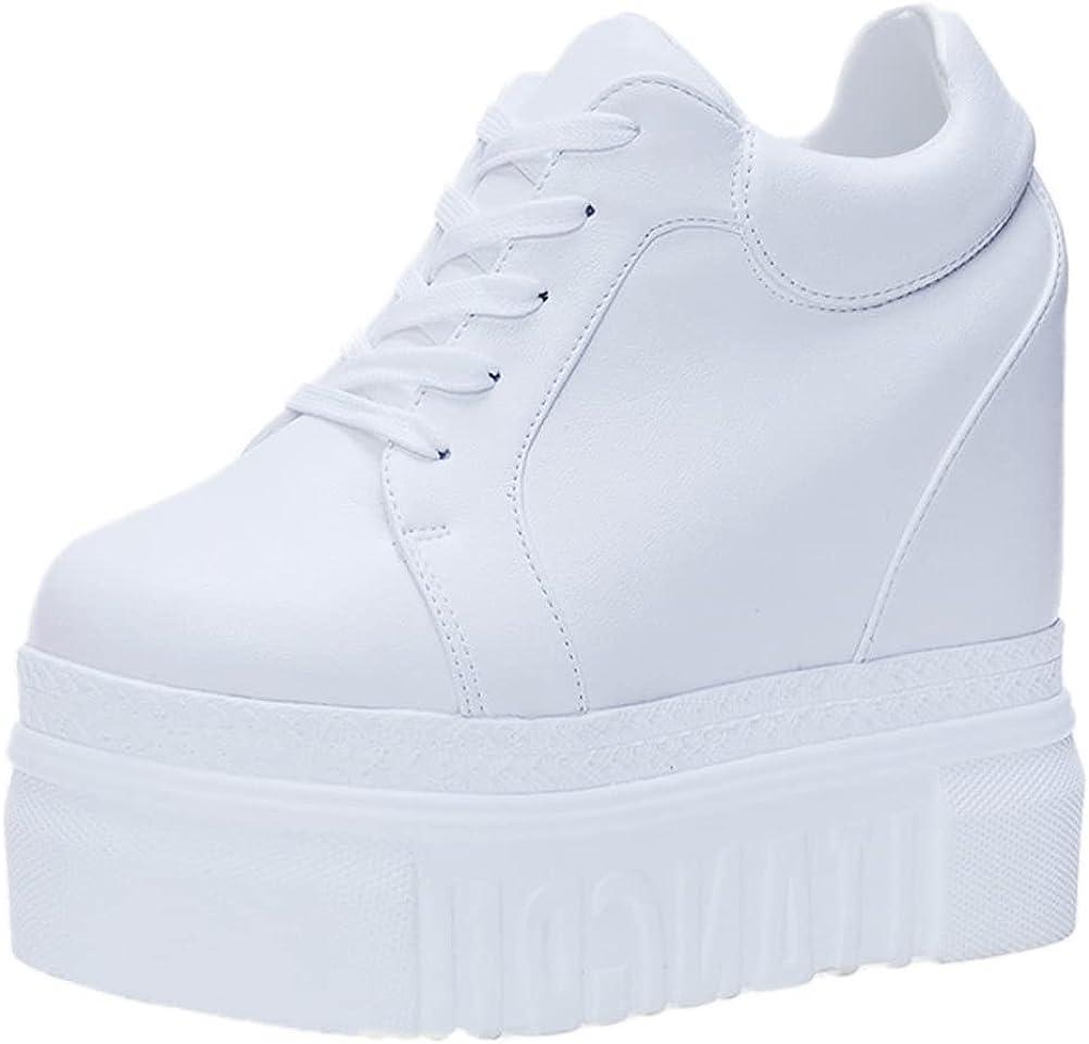 ACE SHOCK Women 格安 価格でご提供いたします Fashion セール Platform Hidden High Sneakers Heel Wedge