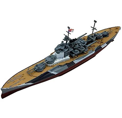 CMO Portaaviones Maqueta, Acorazado HMS Queen Elizabeth RN Escala 1/1000, Juguetes para Adultos, 7,9 X 2,4 Pulgadas