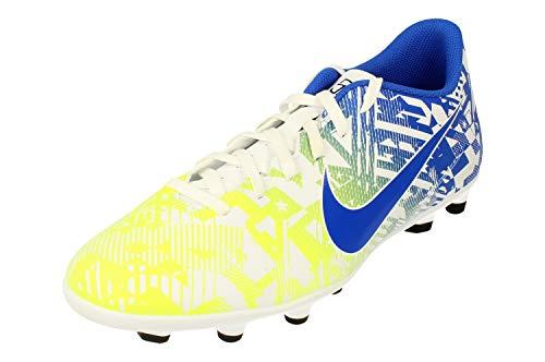 Nike Vapor 13 Club NJR FG/MG Uomo Scarpe de Calcio AT7967 Soccer Cleats (UK 11 US 12 EU 46, White Racer Blue Volt Black 104)