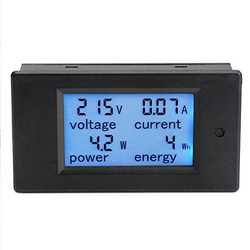 Preisvergleich Produktbild Droking AC 80-260 V Digital Multimeter Voltmeter Amperemeter Energieüberwachung Power Panel Meter LCD Display mit Eingebautem Strom Shunt