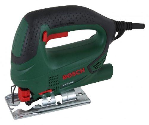 Bosch 06033A0720 PST 650 seghetto Elettrico 500 W 1,6 kg, Nero, Verde, Rosso