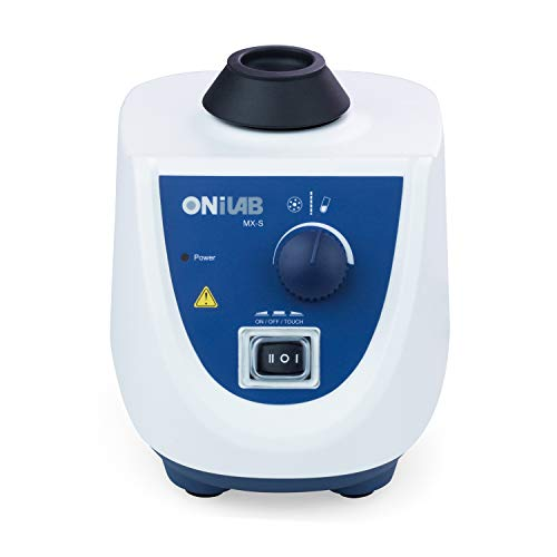 ONiLAB Lab Vortex Mixer with Touch Start Operation and Continuous Mode for Micro centrifuge, Eppendorf and Test Tubes, Vallejo containers,0-2500 RPM