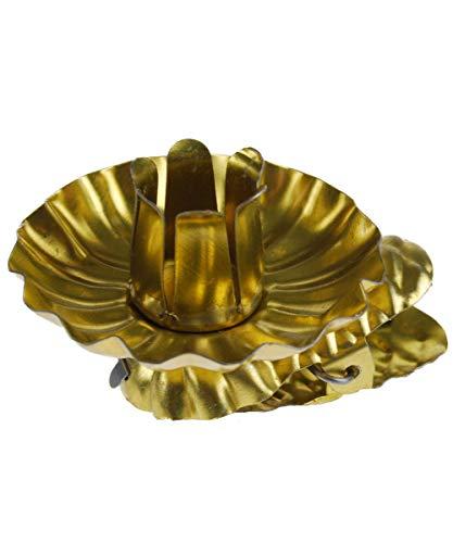 hdg Baumkerzenhalter Clip in Zapfenform in verschieden Sets (20er, Gold)