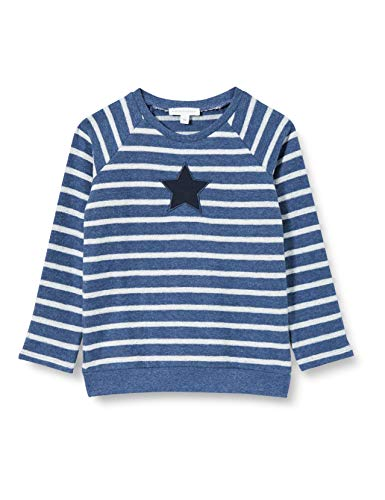 bellybutton Baby-Jungen Sweatshirt T-Shirt, y/d Stripe|Multicolored, 92