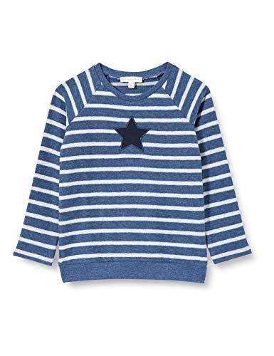 bellybutton Baby-Jungen Sweatshirt T-Shirt, y/d Stripe|Multicolored, 92