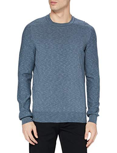 BOSS Kamyoda suéter, Verde Abierto (346), M para Hombre