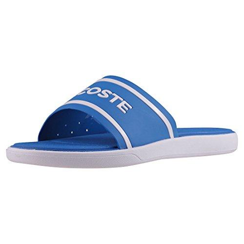 Lacoste L.30 Slide 118 2 Damen Gleitschuhe Blue White - 4 UK