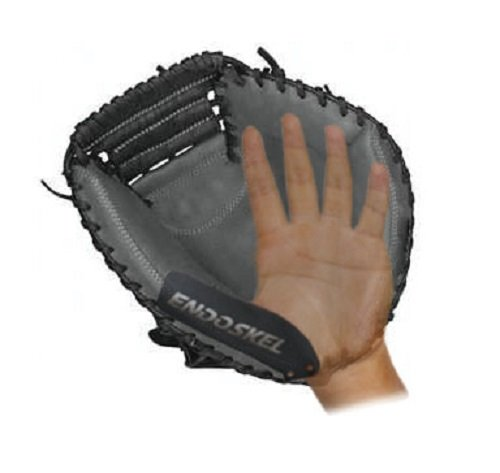 Endoskel Baseball Catchers Thumb Guard RHT (Right Hand Thrower). Made with Military Grade Aircraft Aluminum & Xtreme Impact Protection Foam Technology