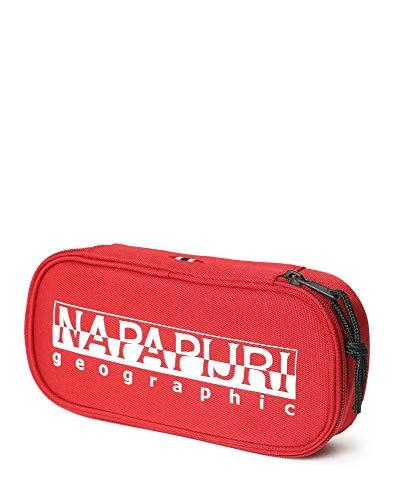Napapijri Happy Pen Organizer Astuccio, 0 cm, Red Scarlet (Rosso) - N0YID4