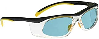 Laser Safety Glasses - Yag, Alexandrite Diode, Holmium Filter - Black/yellow Plastic Frame - 50/33-19-142