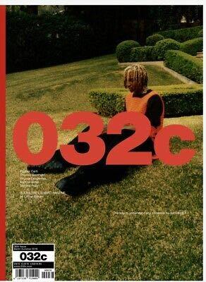 032c Magazine Playboi Carti Summer 2019 SPECIAL FANZINE INSERT KRISTEN STEWART