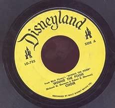 Winnie the Pooh - Choir, / Little Black Rain Cloud - Sterling Holloway