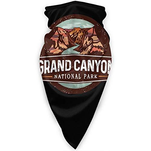yyndw Chapeaux Grand Canyon National Park Neck Gaiter Unisexe Coupe-Vent Personnalisé Doux Anti-UV Couvre-Chef D'Extérieur Multifonctionnel Réchauffeur Spécial À La Mode Imprimé Moto VI