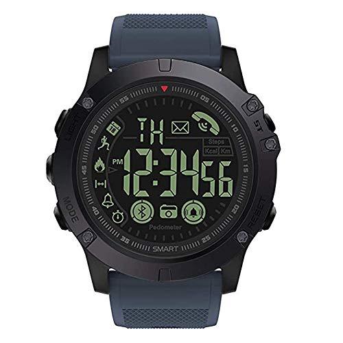 Sinye T1 Tact Digitale Sportuhr für Herren, im Militär-Stil, sehr robust, Smart-Watch, wasserdicht, Schrittzähler, Kalorienzähler, Multifunktions-Bluetooth-Smartwatch