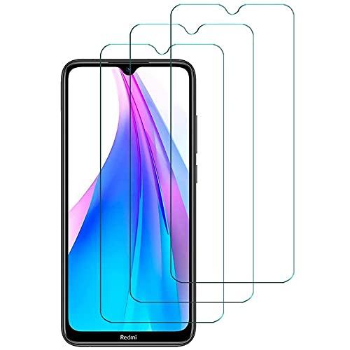Cristal Templado Xiaomi Redmi Note 8T [3 Unidades], Hanbee Protector Pantalla Xiaomi Redmi Note 8T, Alta Definicion, Protector Pantalla Xiaomi Redmi Note 8T