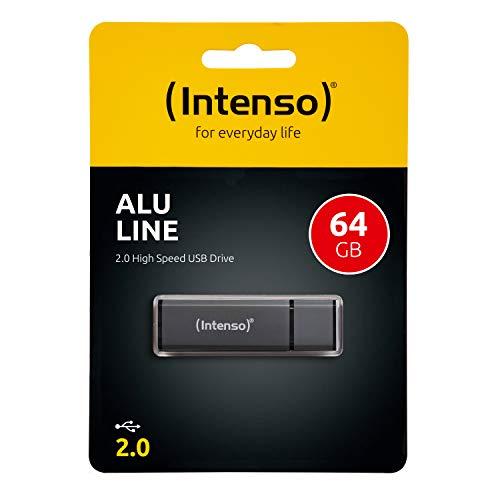 Intenso Alu Line USB-Stick 64GB Anthrazit 3521491 USB 2.0