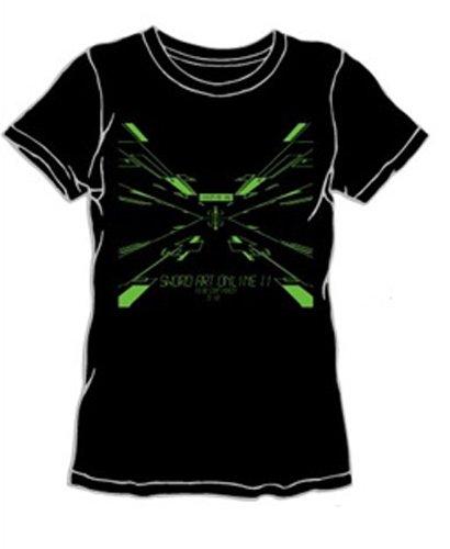 LIVERTINEAGE×SAO2 スペースTシャツ BLK サイズ:XS