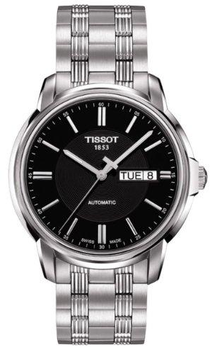 Herren-Armbanduhr XL Analog Automatik Edelstahl T065.430.11.051.00