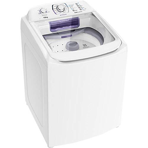 Lavadora Electrolux Branca com Dispenser Autolimpante e Ciclo Silencioso (LAC16)