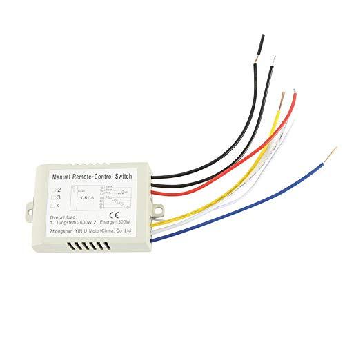 Toasses Lámpara de luz L-E-D 180  240V 3 VÍAS ON/Off Digital RF RF Switch Wireless