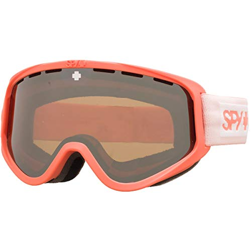 SPY Optic Woot Color-Block Coral/Bronze/Siliver Mirror/Persimmon One Size (Persimmon Block)