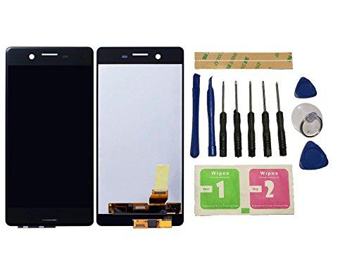 Flügel para Sony Xperia X F5121 F5122 Pantalla LCD pantalla Gris negro Táctil digitalizador Asamblea Pantalla ( sin marco ) de Recambio & Herramientas
