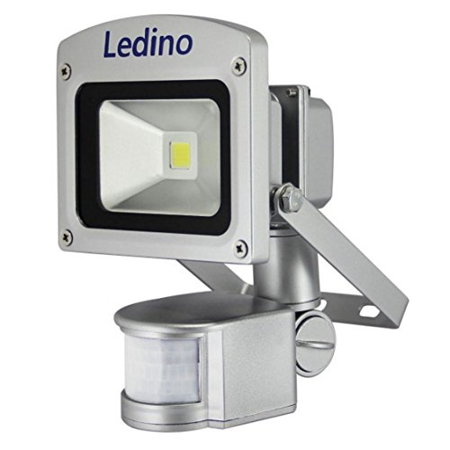 Ledino Ledisis High Power LED-Flutlichtstrahler, IR-Sensor, 10 W, kalt-/warmweiß Warmweiß