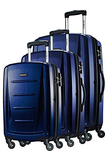 Samsonite Winfield 2 Hardside Expandable Luggage with Spinner Wheels, Navy