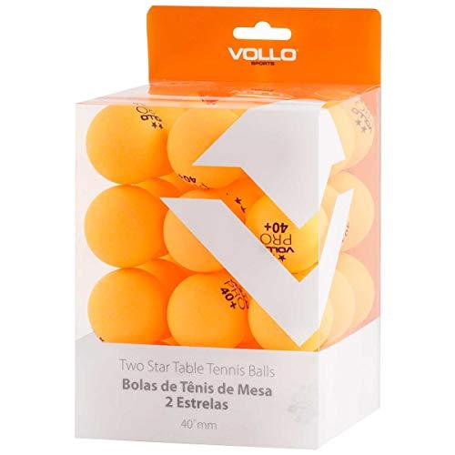 Bolas de Tenis de Mesa, Vollo Sports, Laranja