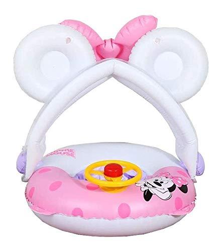 JCCOZ -URG - Piscina hinchable con anillo de natación para niños con juguetes de agua de dirección 35 x 35 x 45 cm, piscina infantil para niños de 3 años URG
