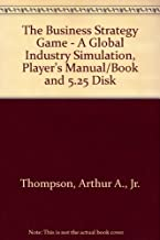 The Business Strategy Game - A Global Industry Simulation, Player's Manual/Book and 5.25 Disk