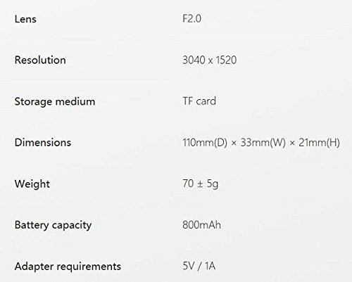 Insta360 Nano Compact Mini 360 Degree Panorama Camera 3K HD Video - 9