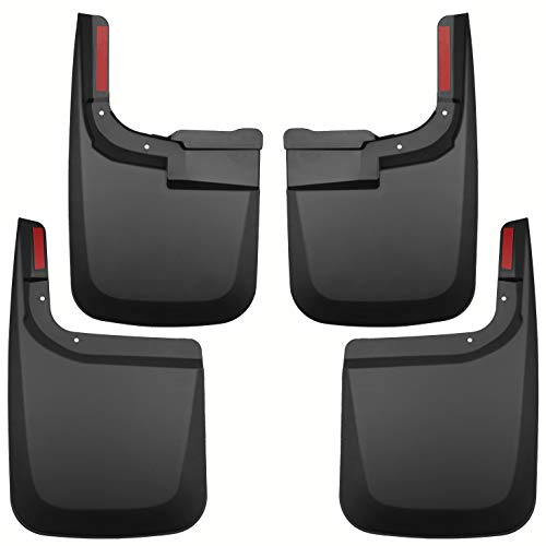 Tecoom Mud Flaps Splash Guards Front and Rear 4psc Set Compatible with 2017 2018...