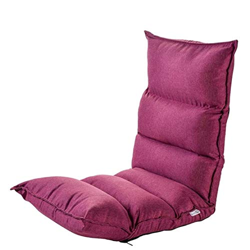 GJZM sillones Puff sofá Perezosa Tatami Individual pequeño sofá sofá Cama Plegable...