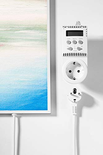 Könighaus Fern Infrarotheizung – Bildheizung in HD Qualität mit TÜV/GS – 200 Bilder – 800 Watt (200. Ölgemälde Baum Wasser) Bild 4*