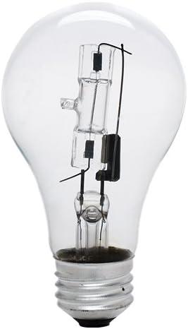 Bulbrite 115042 - 43 Watt Halogen Popular products Bulb New York Mall A19 1 Light Clear 0