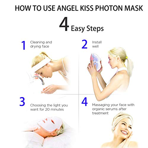 Angel Kiss 7 Color Light Therapy Mask