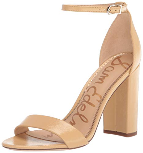 Sam Edelman Women's Yaro Heeled Sandal Wheat 9 Medium